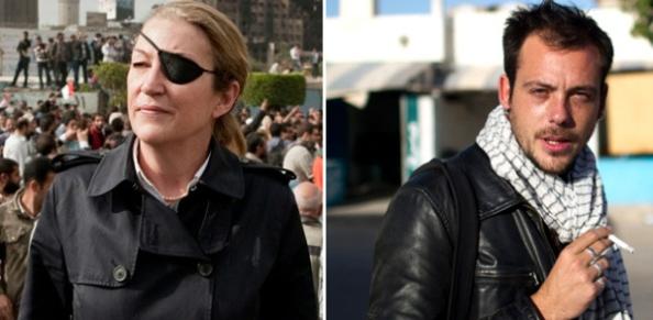 Marie Colvin et Remi Ochlik